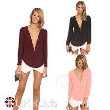 Waist Length Chiffon V Neck Regular Tops & Shirts for Women