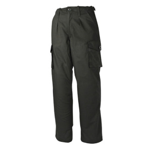 MOD Police Pattern Trousers Black Ripstop Security