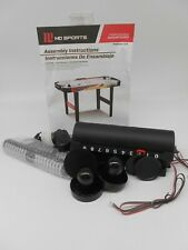 """MD Sports 48"""" Air Powered Hockey Table-Pushers,Pucks & Score Keepers-AH048Y20001"""