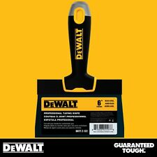 "DEWALT Taping Knife 6"" Premium Blue Steel Drywall Finishing Tool Soft-Grip"