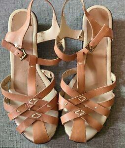 Easy Spirit Sandals Size 9.5-10 Brown