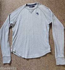 Abercrombie&Fitch boys long sleeve t-shirt size XL (14-16 yrs) grey crew neck