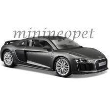 MAISTO 31513 AUDI R8 V10 PLUS 1/24 DIECAST MODEL CAR GREY