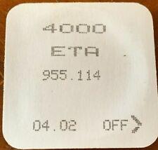 Circuito ETA 955.114