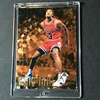 SCOTTIE PIPPEN 1994 FLEER ULTRA #4 DEFENSIVE GEMS FOIL INSERT CARD BULLS NBA HOF