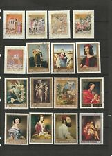 Paintings - Hungary Art Thematic Stamp Selection  4 SCANS (3531)