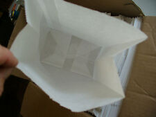 QTY 10 #6 Paper White Kraft Bakery Grocery Merchandise Retail Shopping Bags