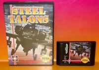 Steel Talons  - Sega Genesis Rare Tested Nice Condition ! - Tengen