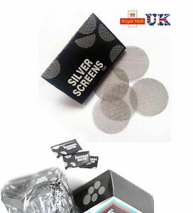 Metal Pipe Screens Silver,Pipes Screens Gauzes Premium Steel Free Postage lot