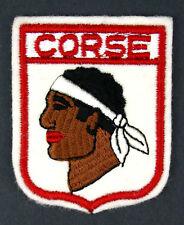 Ecusson brodé ♦ (patch/crest embroidered) ♦ CORSE