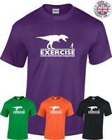 EXERCISE Some Motivation Required Funny T shirt Mens Womens Fitness Gym running