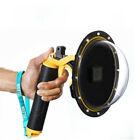 "TELESIN 6"" Sphere DOME Diving Waterproof Housing Case For GoPro Hero 7 6 5"