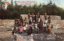 Postcard Igorotte Village Alaska-Yukon-Pacific Exposition Seattle, WA~117181