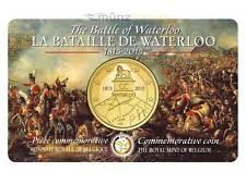 2.5 Euro 2,50 Euros 200 Years Battle of Waterloo Belgium coincard BU Sold OUT