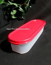 Tupperware NEW Modular Mate Mates Super Oval 1 One Container Popsicle Red Seal