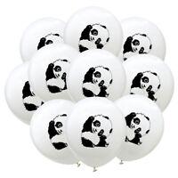10x12 Zoll Panda Ballons Weiß Ballons Dekoration Geburtstagsfeier GeschenkeWLDE