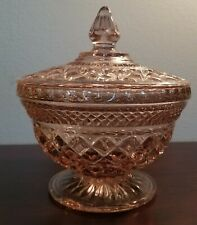 Pink Crystal Candy Dish