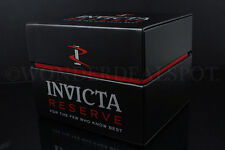 Brand New Invicta Reserve JET BLACK Watch Display/Storage Box