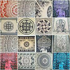 100% Algodón Tapiz Colgante De Pared Lanzar Hippie Mandala Elefante árbol de la vida