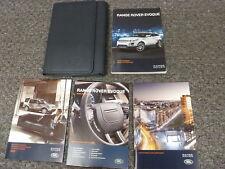 2013 Land Rover Range Rover Evoque SUV Owner Manual User Guide Pure Plus 2.0L