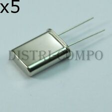 Quartz 10.700000MHz HC18 HC49U 32pF 30ohm (lot de 5)