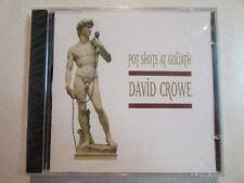 DAVID CROWE POT SHOTS AT GOLIATH DAVID CROWE 1998 14 TRK COMEDY CD SEALED OOP