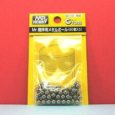 Mr. Hobby #GT73 Mr. Metal Ball (60pcs) for mixing paint