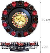 Jeu Roulette Russe 16 Verres Shots Boissons Soiree Alcool Rouge Noir Casino Fete