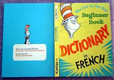 The Cat In The Hat Dictionary In French Dr Seuss language learning 1967 annual