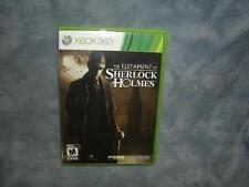 Testament of Sherlock Holmes (Microsoft Xbox 360, 2012)