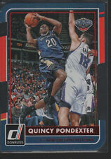 QUINCY PONDEXTER  2015-16 PANINI DONRUSS INSPIRATION DIE-CUT CARD #45 /80