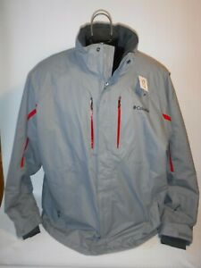 #9227 COLUMBIA OMNI TECH SKI SNOWBOARD WINTER JACKET MEN'S XXL PREOWNED