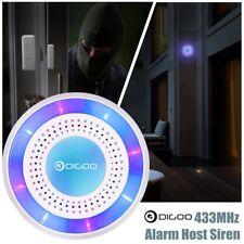 Digoo DG-ROSA 433MHz DIY Wireless Home Security Standalone Alarm Host Siren