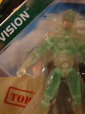 "Marvel Universe 3.75"" PHASING VISION -- MIP ! legends ! translucent ! avengers"