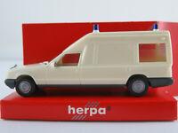 Herpa 041980 Mercedes-Benz Miesen Bonna 124 L KTW in cremeweiß 1:87/H0 NEU/OVP