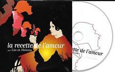 CD CARTONNE COLLECTOR 1T LIO ET HÉLÉNA LA RECETTE DE L'AMOUR 2003 CONTE MUSICAL