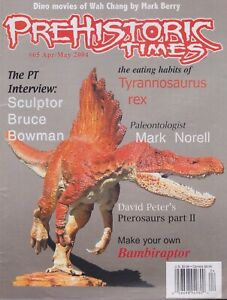 RARE #65 Issue Prehistoric Times dinosaur magazine PT OOP, Not sold anymore.