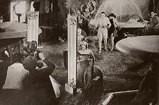 """""""METROPOLIS (Fritz LANG 1926)"""" Diapositive de presse originale du tournage"""
