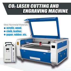 "CO2 180W Laser Engraving Cutting Machine 51""x35"" Autofocus Water Chiller Ruida"