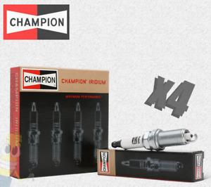 Champion (9204) RS12WYPB4 Iridium Replacement Spark Plug - Set of 4