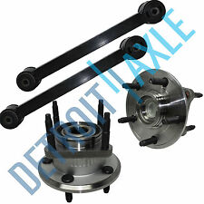 For 2006 - 2008 Jeep Commander 4PC Rear Control Arm Track Bar Wheel Hub Bearing