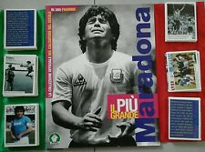 Il più grande Maradona PREZIOSI COLLECTION ALBUM+SET COMPLETO no panini