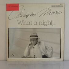 """Christopher Moore – What A Night (Vinyl 12"""", Maxi 33 Tours)"""