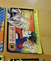 DRAGON BALL Z DBZ HONDAN PART CARDDASS CARD REVERSE PRISM CARTE 294 JAPAN **