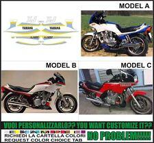 kit adesivi stickers compatibili xj 900 1986