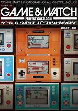 'NEW' Game & Watch Perfect Catalogue / Japan Book Nintendo Handheld electronic