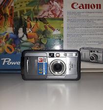 Canon PowerShot S40 4.0MP Digital Camera - Silver