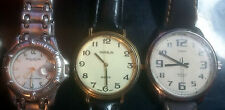 3 Watches TIMEX Kenneth Cole HANSLIN