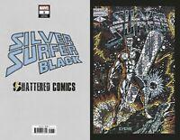 Limited SILVER SURFER BLACK #1 Matt DiMasi's Shattered Variant