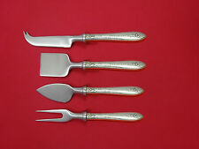 Margaret Rose By National Sterling Silver Cheese Serving Set 4 piece HHWS Custom